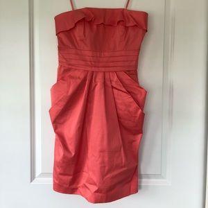 Convertible Coral Dress